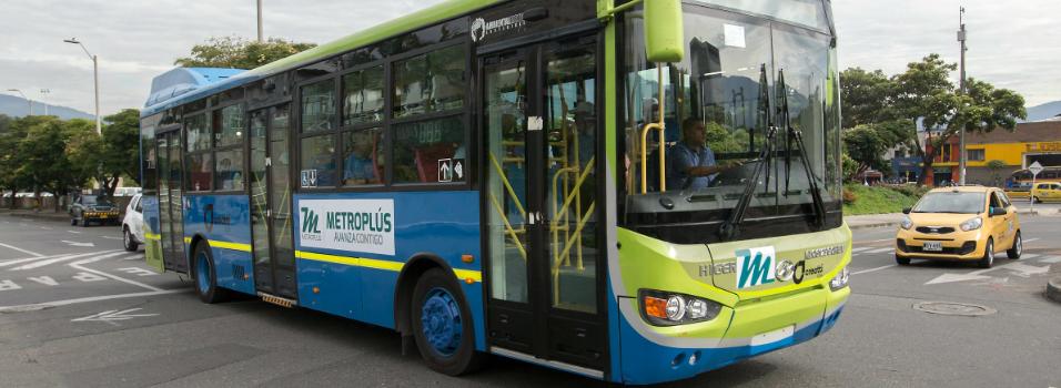 Metroplús tendrá buses eléctricos a finales de este año.