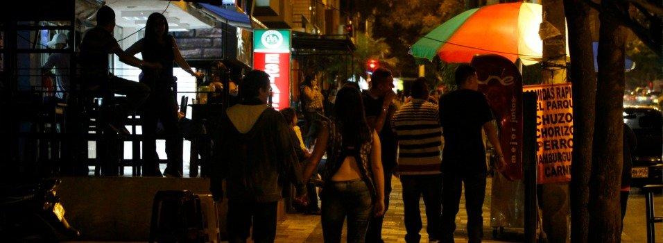 la 33 y la 70, puntos de ruido en Medellín