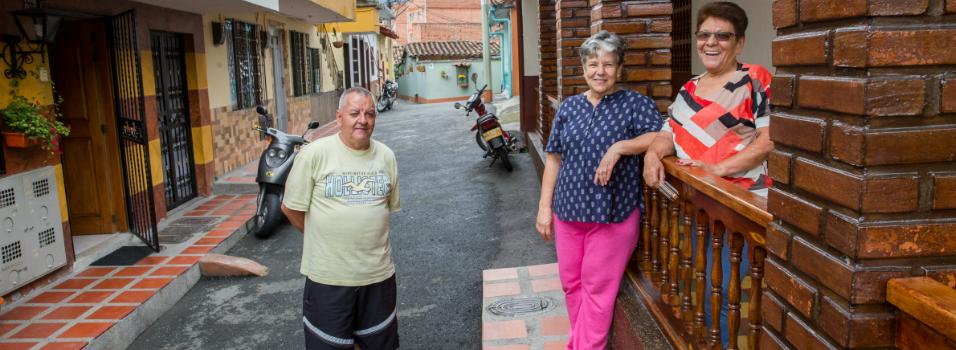 Pasaje Los Mejías, un callejón privado de San José (Envigado).