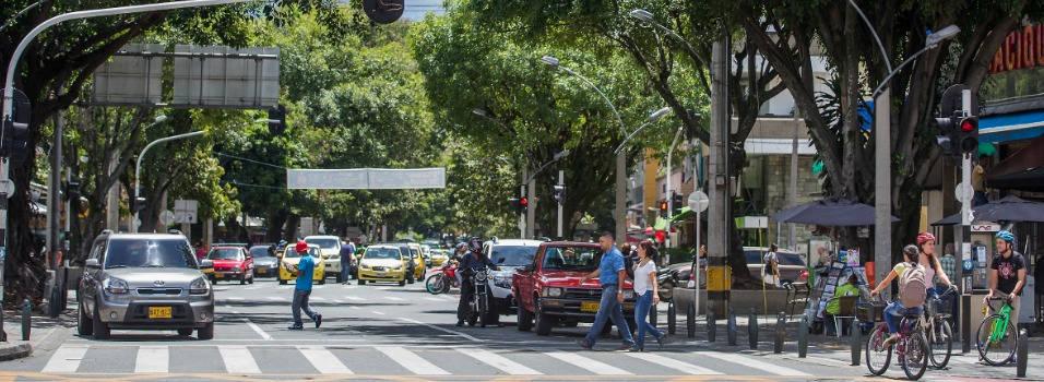 La carrera 70 de Medellín cambió de nombre para homenajear al equipo de fútbol Atlético Nacional, ganador de 2 copas Libertadores de América.