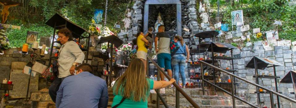 Estudian no trasladar la virgen de La Aguacatala