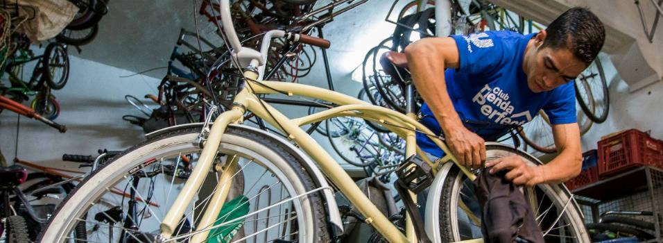 Personalice su bici para el desfile de Feria de Flores