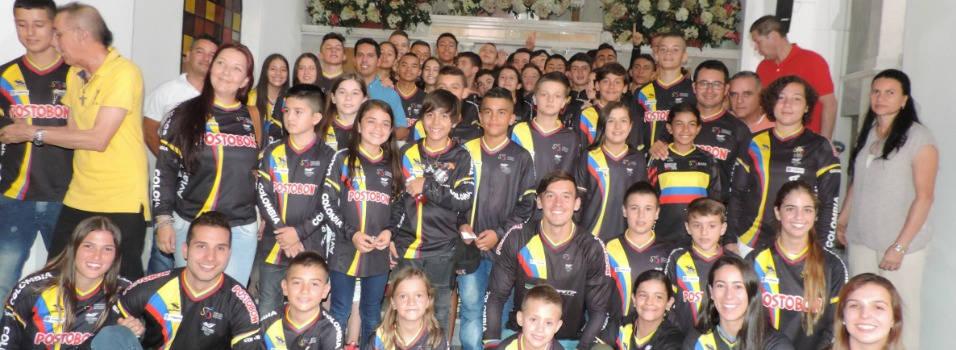 Bicicrosistas envigadeños, con la bendición para el Mundial en Estados Unidos