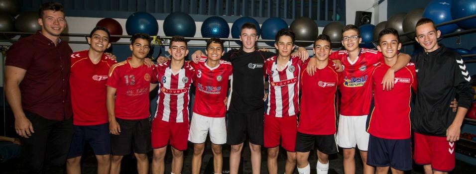 Corazonista, carta de Colombia en torneo de balonmano en España