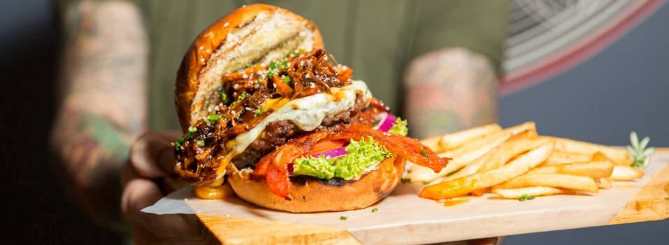 Estas son las 5 mejores hamburguesas de la ciudad