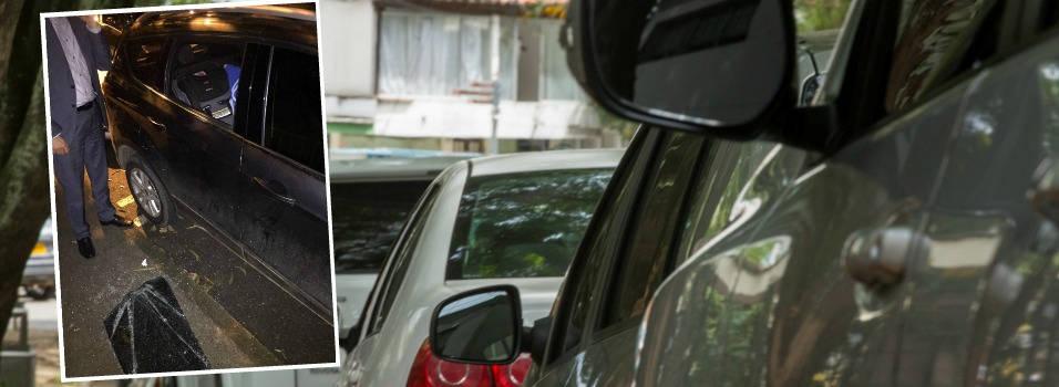 Que los ladrones no se le metan por la ventana del carro