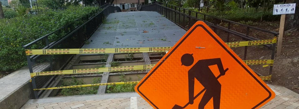 Los senderos cuentan con restricciones para su uso.