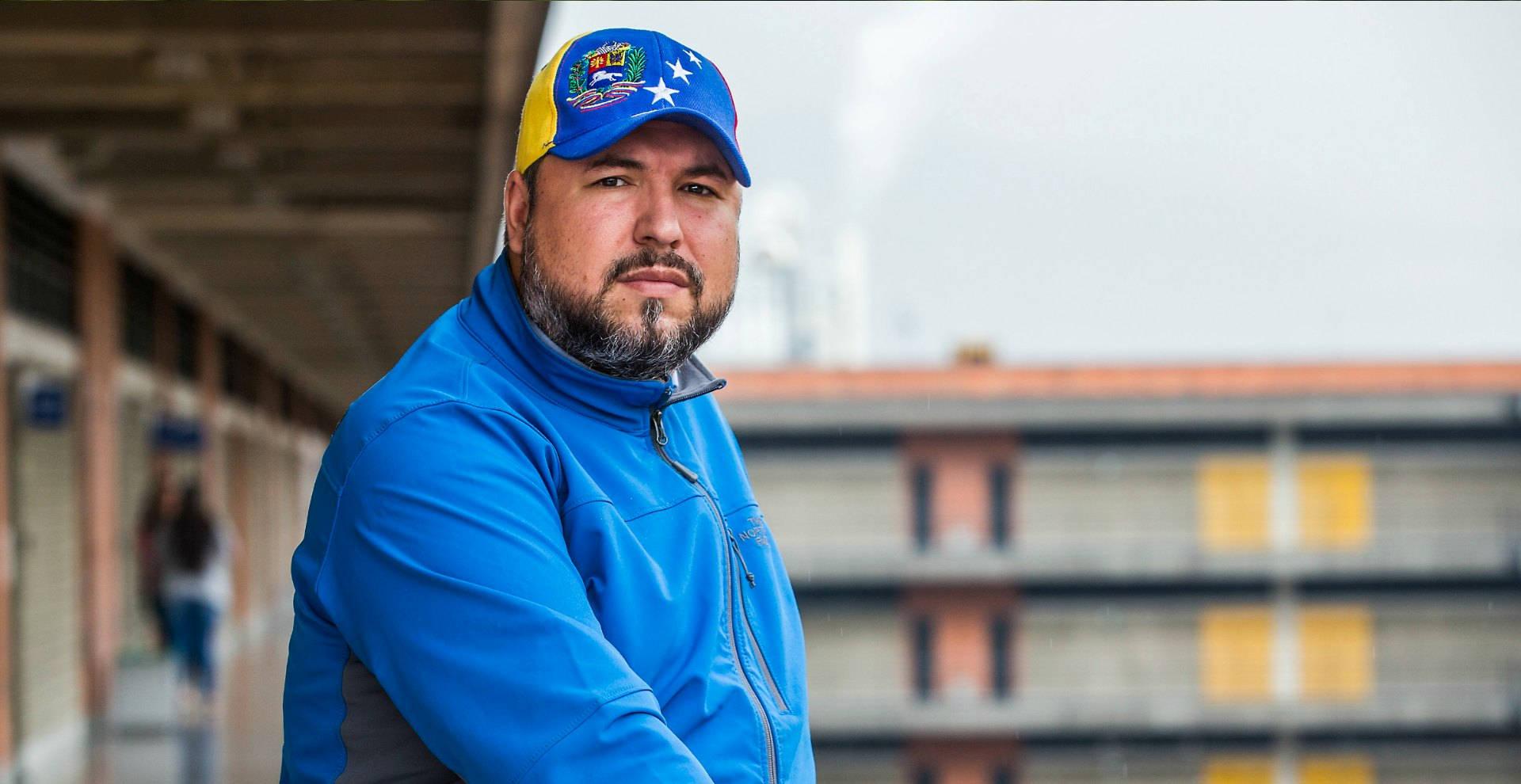 Carlos Vásquez, ingeniero industrial
