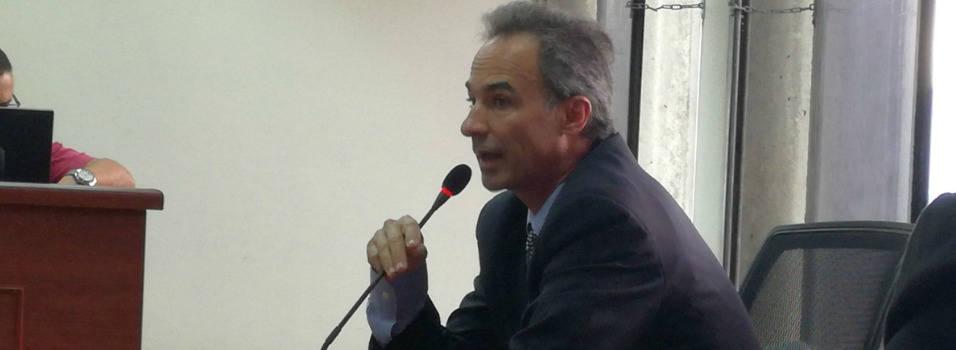 Pablo Villegas Mesa, representante legal de la constructora en el momento en que se derrumbó el Space.