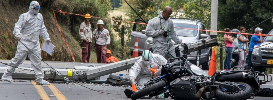 ¿Por qué hay tantos accidentes en la vía Las Palmas de Medellín?