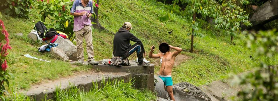 La Picacha se convirtió en un baño público