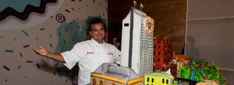 La torta que Buddy Balastro le regaló a Medellín