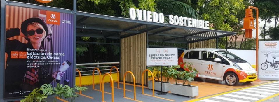 Esta es la primera estación de carga eléctrica en un centro comercial de Medellín