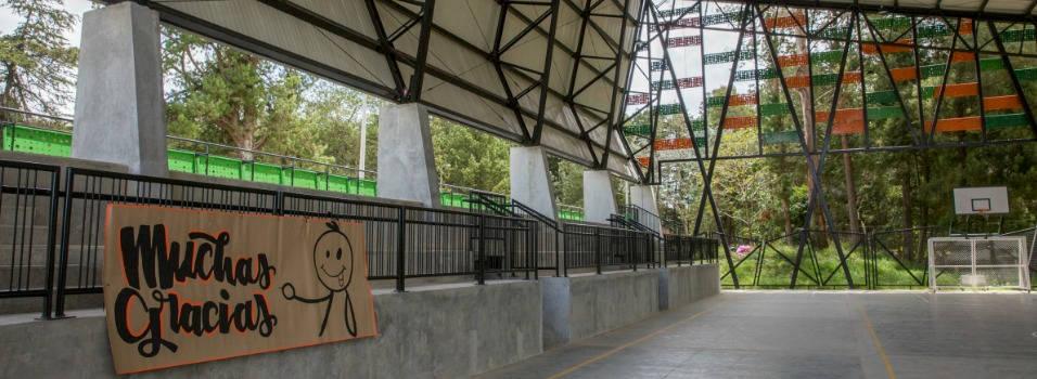 Las Palmas está estrenando complejo deportivo