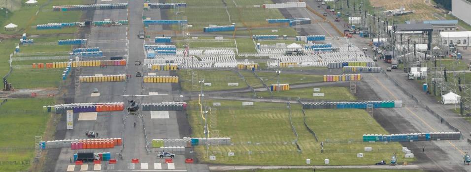 Así se acondiciona el aeropuerto de Medellín para la misa del papa