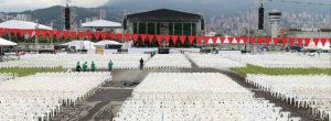 Misa del papa en Medellín
