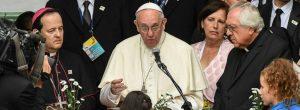 Todos los discursos del papa en Colombia