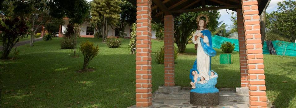 Así nació el barrio La Inmaculada, de Envigado