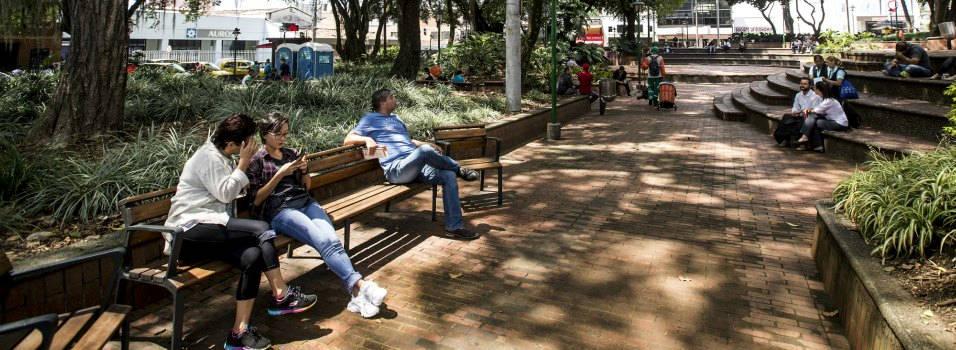 Así revivirán al Parque de El Poblado, de Medellín.