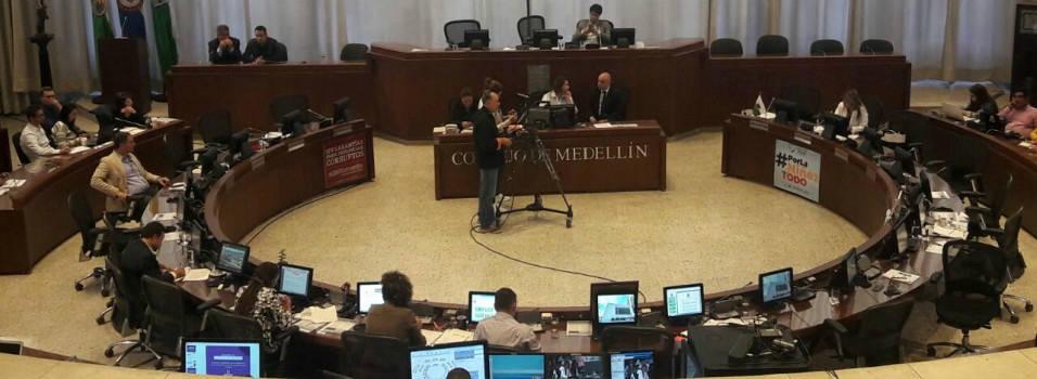 Concejo de Medellín criticó el Proyecto de Valorización
