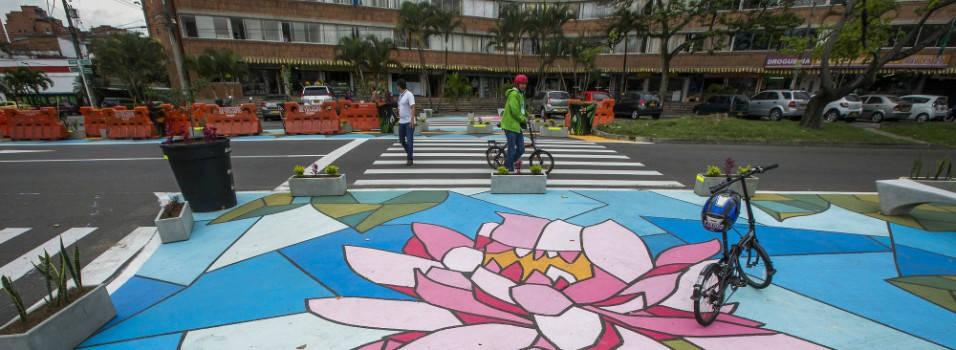 El urbanismo táctico llegó a La Consolata