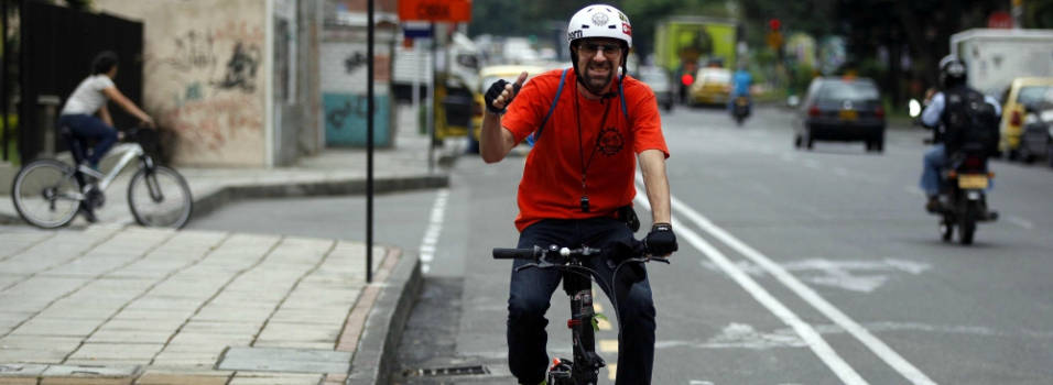 Entrevista a Mauricio Mesa, activista de la bicicleta en Medellín