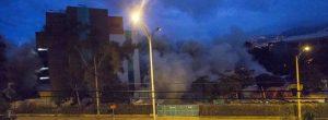 Implosión en UPB molestó a los vecinos