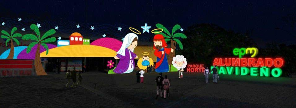 Así serán los alumbrados navideños en Medellín