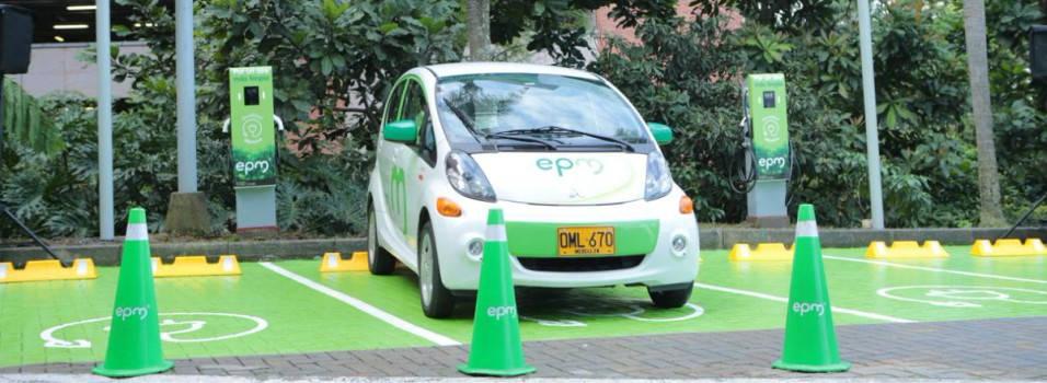 Nuevas estaciones para vehículos eléctricos en El Poblado