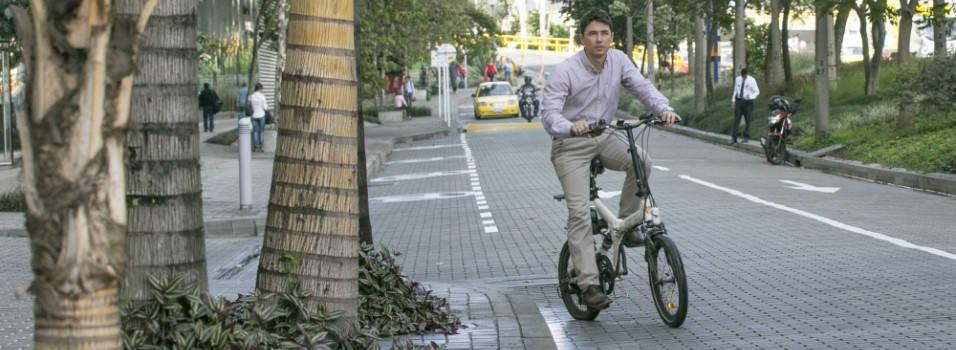 Así es montar en bicicleta en El Poblado