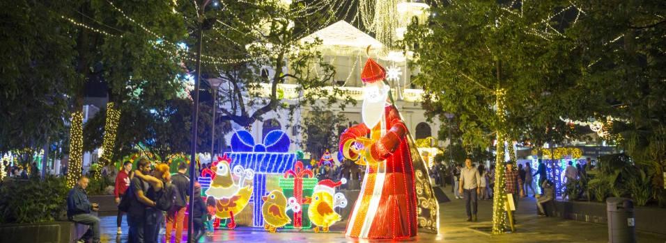 Así se ilumina la ciudad en esta Navidad