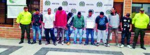 Cayó banda de expendedores de drogas en Envigado