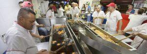 Diciembre en la buñuelería más famosa de Belén
