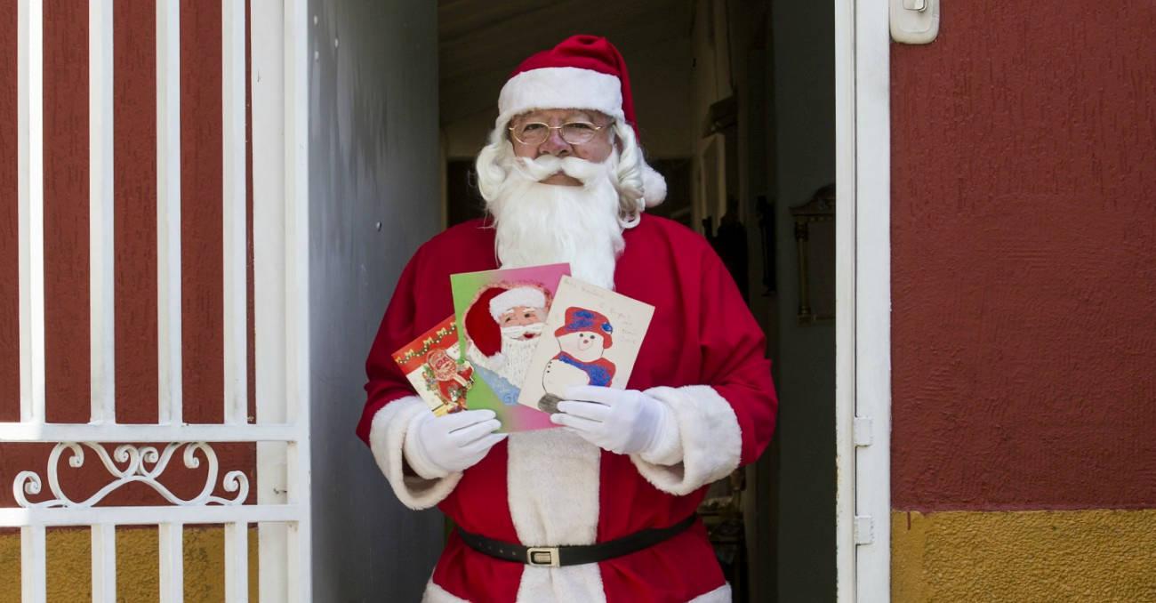 El Papá Noel de Abejorral vive en Belén