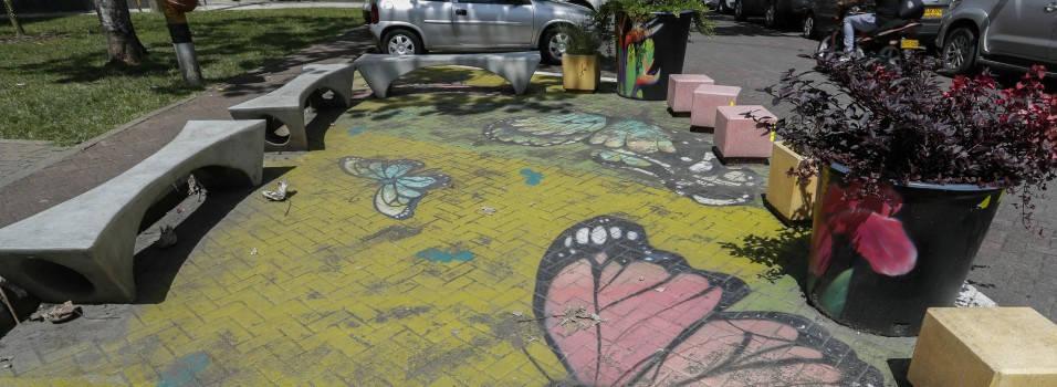 Obras de urbanismo táctico están deterioradas
