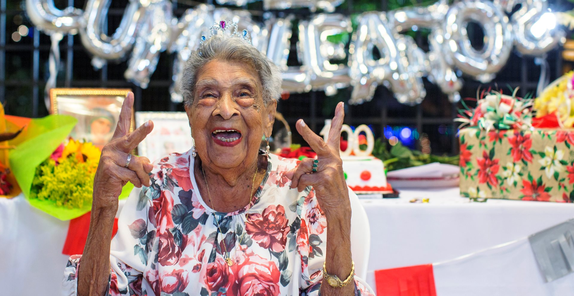 Doña María Rita, nuestra vecina de 100 años