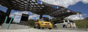 Peaje al aeropuerto de Rionegro subió 1000 pesos