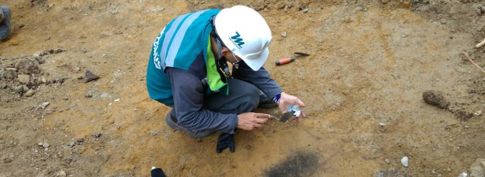 Hasta restos humanos se han encontrado en las obras de metroplús