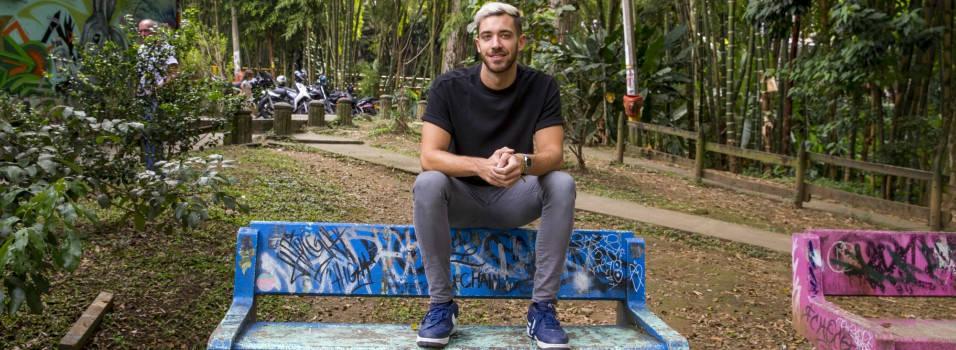 Narcos me trajo a Medellín, Enrique Álex