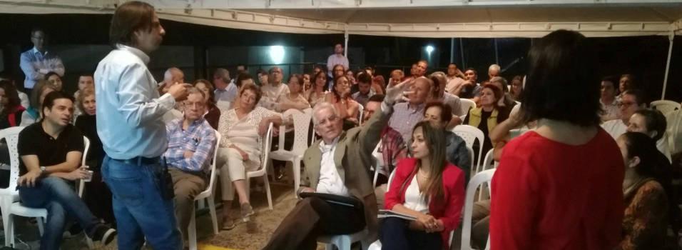 Vecinos de La Aguacatala exigen obras y respuestas