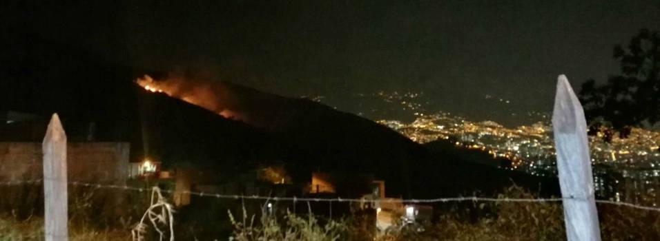 2 incendios se registraron anoche en Belén