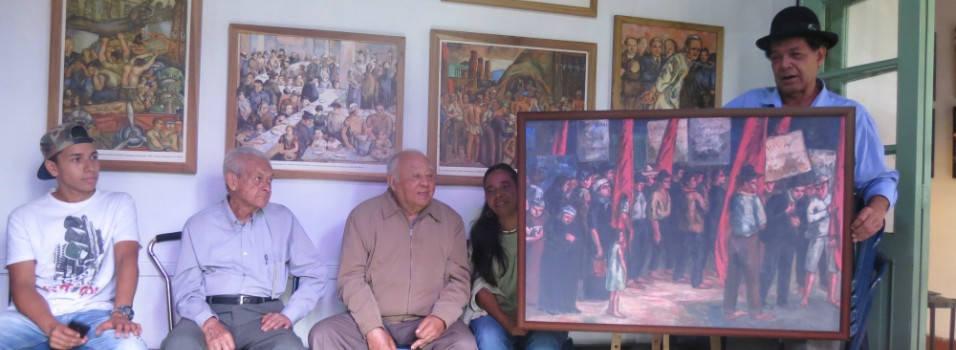 Convierta su casa en un museo con las obras de Pedro Nel