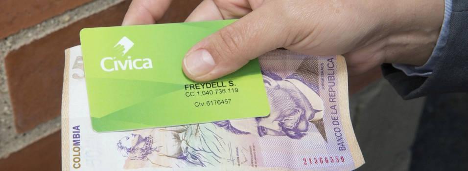 La tarjeta Cívica ya se puede recargar por internet
