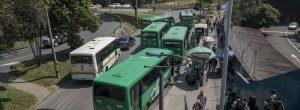 Piden control a buses en La Aguacatala