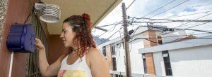 Vecinos que vigilan la calidad del aire en Belén