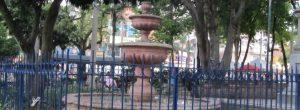 ¿Por qué no funciona la fuente del parque de Belén?