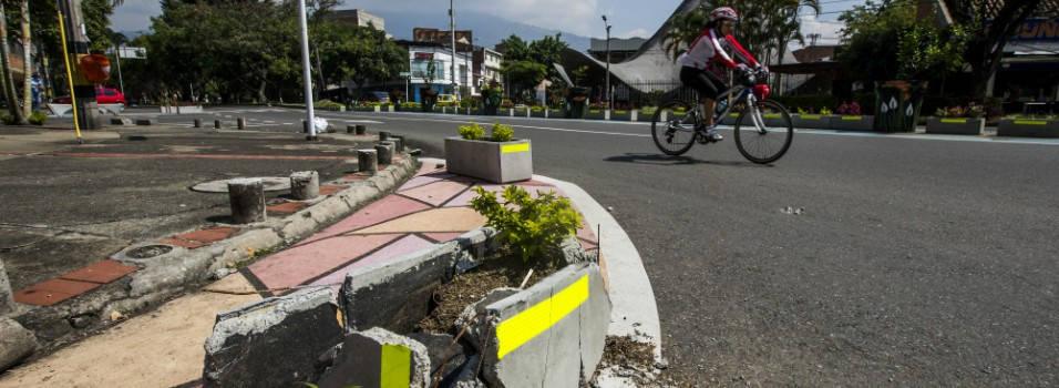 Así dañaron el urbanismo táctico de La Consolata