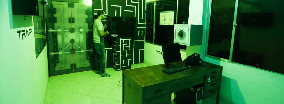 En una casa de Laureles, un videojuego se hace realidad