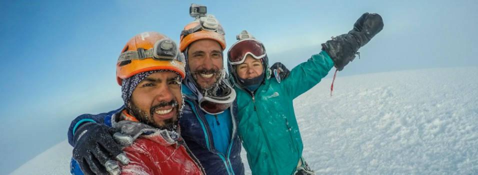 Envigadeños conquistarán la montaña más alta de Norteamérica