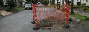 Repararon el acueducto en Las Acacias y dejaron el hueco